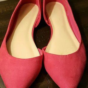 Hot Pink Flats